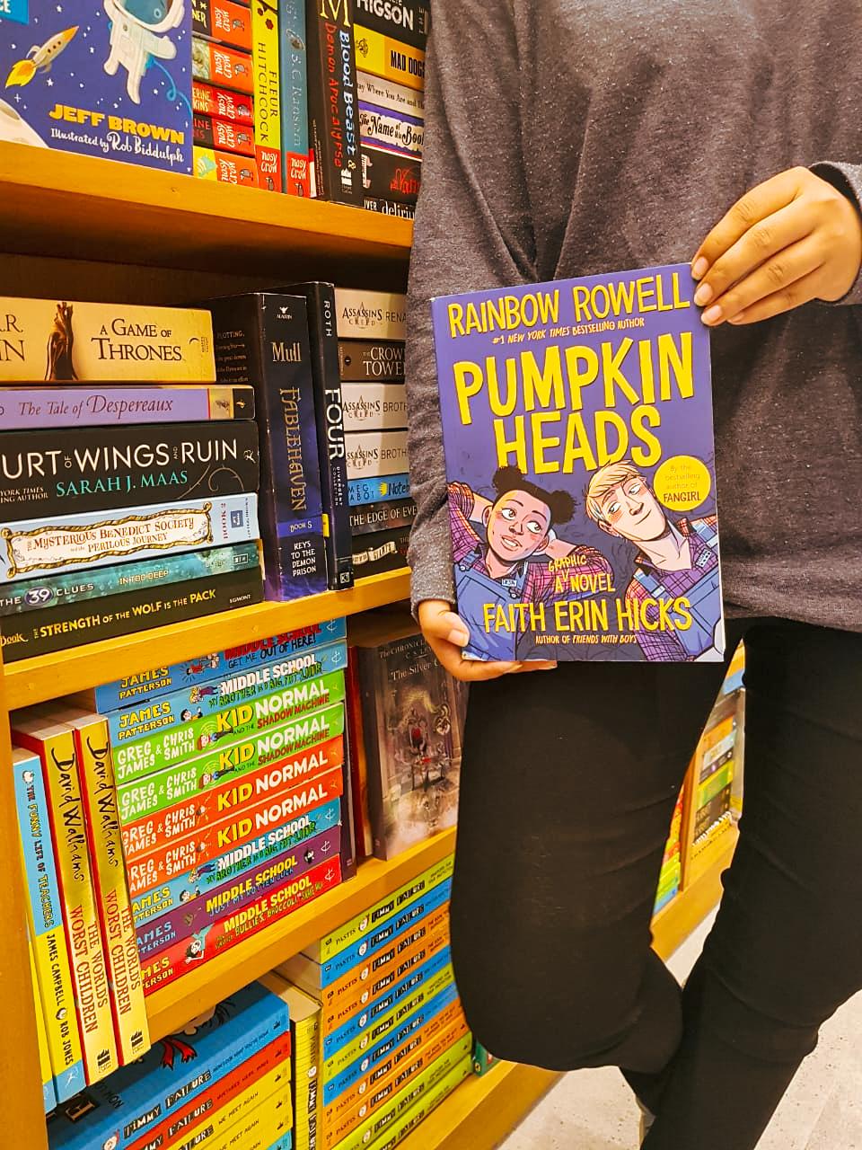Book review, pumpkinheads